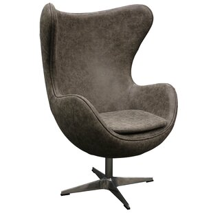 Davi Swivel Barrel Chair by 17 Stories