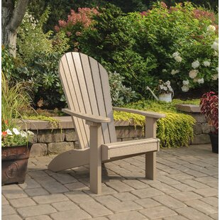 Highland Dunes Altoga Plastic Adirondack Chair