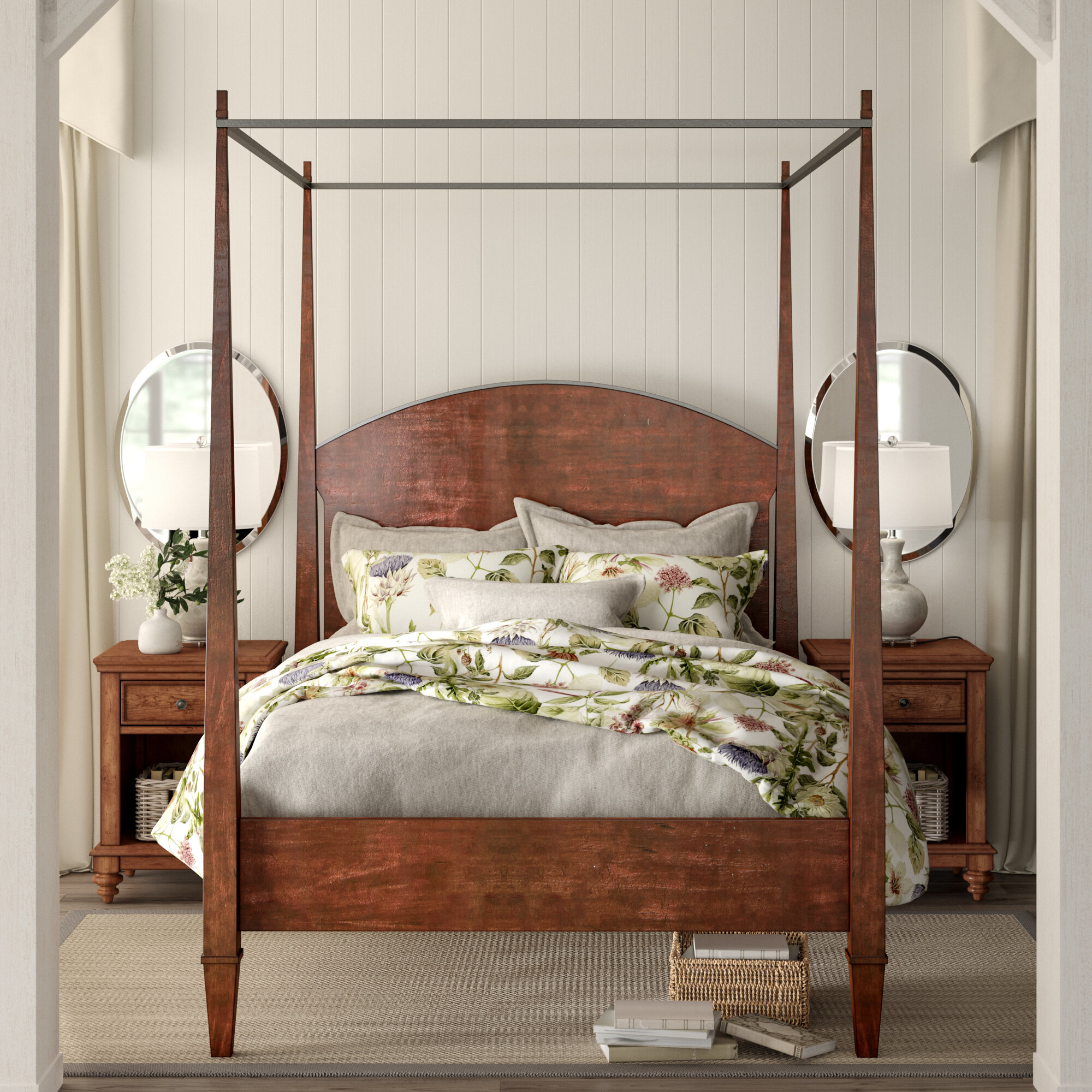 Canopy Bed.Birch Lane Heritage Schaffer Canopy Bed Reviews Birch Lane