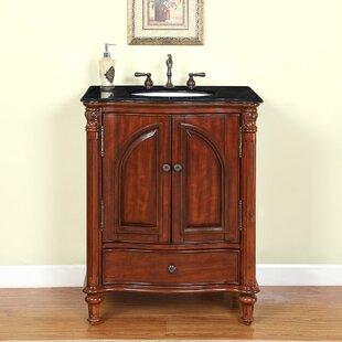 Read Reviews Turquoise 30 Single Bathroom Vanity Set ByAstoria Grand