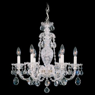 Sterling 6 Light Chandelie..