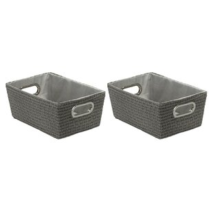 Chromo Laundry Set (Set Of 2) By Brambly Cottage