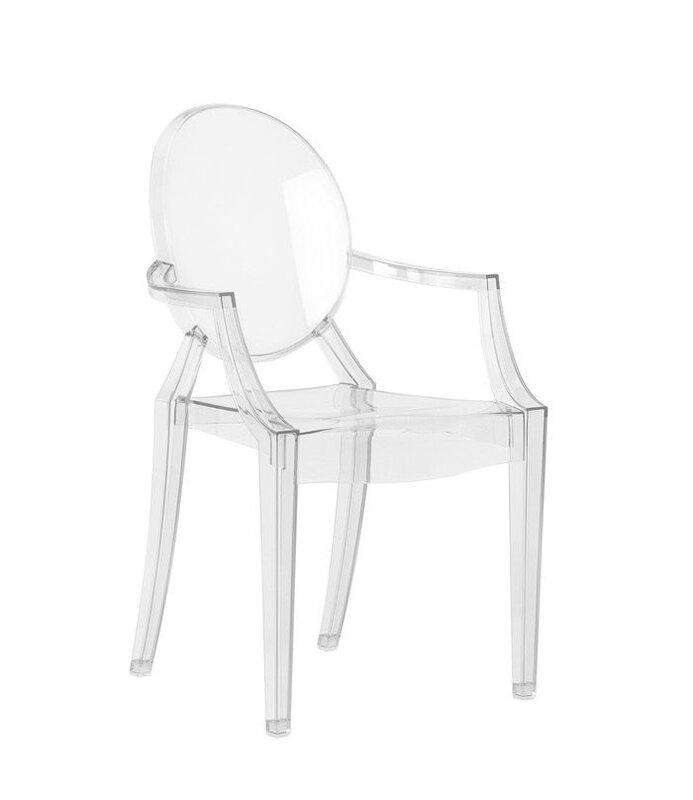 Bryer Transparent Dining Chair