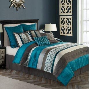 Nanshing America, Inc Avalon 8 Piece Comforter Set