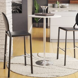 Oliver Adjustable Height Pub Table by Wade Logan Amazing