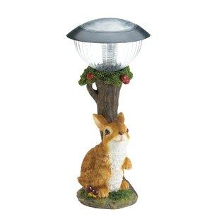 Zingz & Thingz Rabbit Solar Garden 1-Light Pathway Light