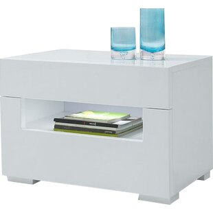 Orren Ellis Sommerset Modern 2 Drawer Nightstand