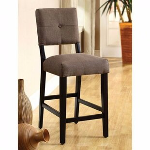 Telly Leather Upholstered Dining Chair (Set of 2)