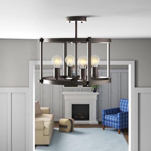 4 Bulb Ceiling Light | Wayfair