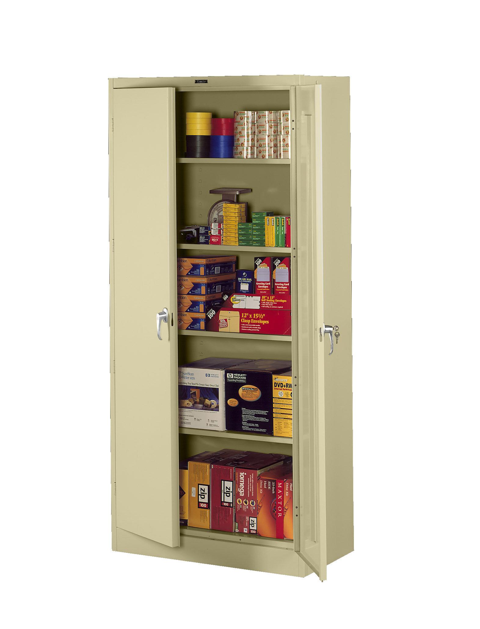 Tennsco Deluxe 2 Door Storage Cabinet Wayfair