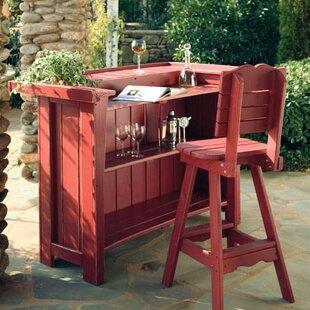 Uwharrie Chair Companion 3 Piece Bar Set
