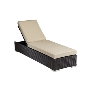 Solana Reclining Chaise Lounge with Cushion