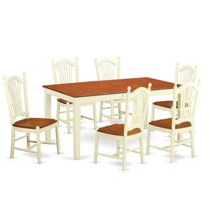 Nicoli 7 Piece Dining Set by East West Fu..