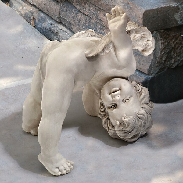 image Turvey Tumbling Cherub Statue byDesign Toscano