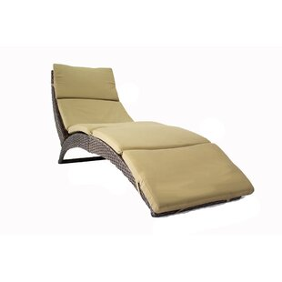 Heather Ann Creations Cancun Sun Chaise Lounge With Cushion