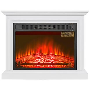 Wooden Mantel Electric Fir..