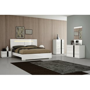 Kimberly Platform Configurable Bedroom Set by Whiteline Imports