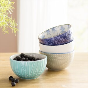 Williamston 12 oz. 4 Piece Dining Bowl Set