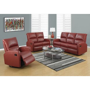 Fiala Reclining Configurable Living Room Set by Ebern Designs