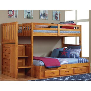 Compare Juhasz Twin over Full Bunk Bed with Drawers ByViv + Rae