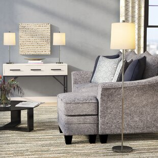 Latitude Run Dawud 3 Piece Table and Floor Lamp Set