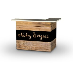 Whiskey and Cigars Home bar by Best of Times