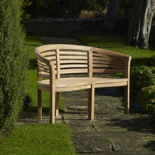 Mazie Teak Bench By August Grove