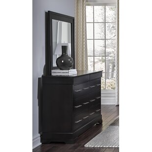 Mcmahon 6 Drawer Dresser with Mirror