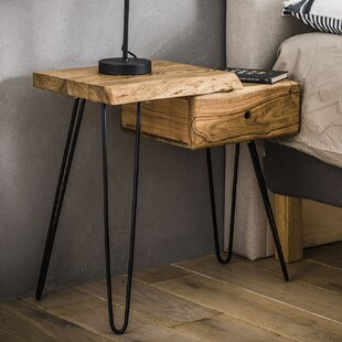 Eberhart 1 Drawer Bedside Table By Union Rustic