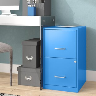 Chaidez 2 Drawer File Cabinet by Wrought Studio