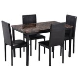 Aaryon 5 - Piece Dining Set by Red Barrel Studio®
