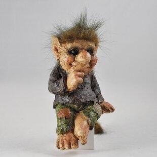 Mooney Cheeky Shelf Sitting Troll Statue Image