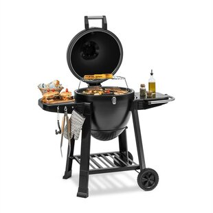 56cm Kamado Portable Charcoal Barbecue By Klarstein
