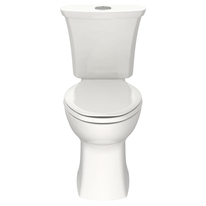 American Standard Edgemere 1 6 Gpf Elongated Two Piece Toilet Seat Not Included Wayfair