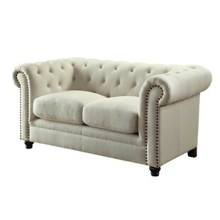 Shop for Lundberg Loveseat by Rosdorf Park Reviews (2019) & Buyer's Guide