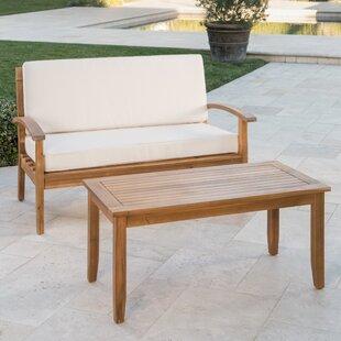 Bellapais 2 Piece Conversation Set With Cushions