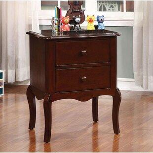 Harriet Bee Browner 2 Drawer Nightstand