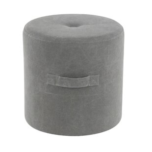 Henshaw Contemporary Round Tufted Pouf