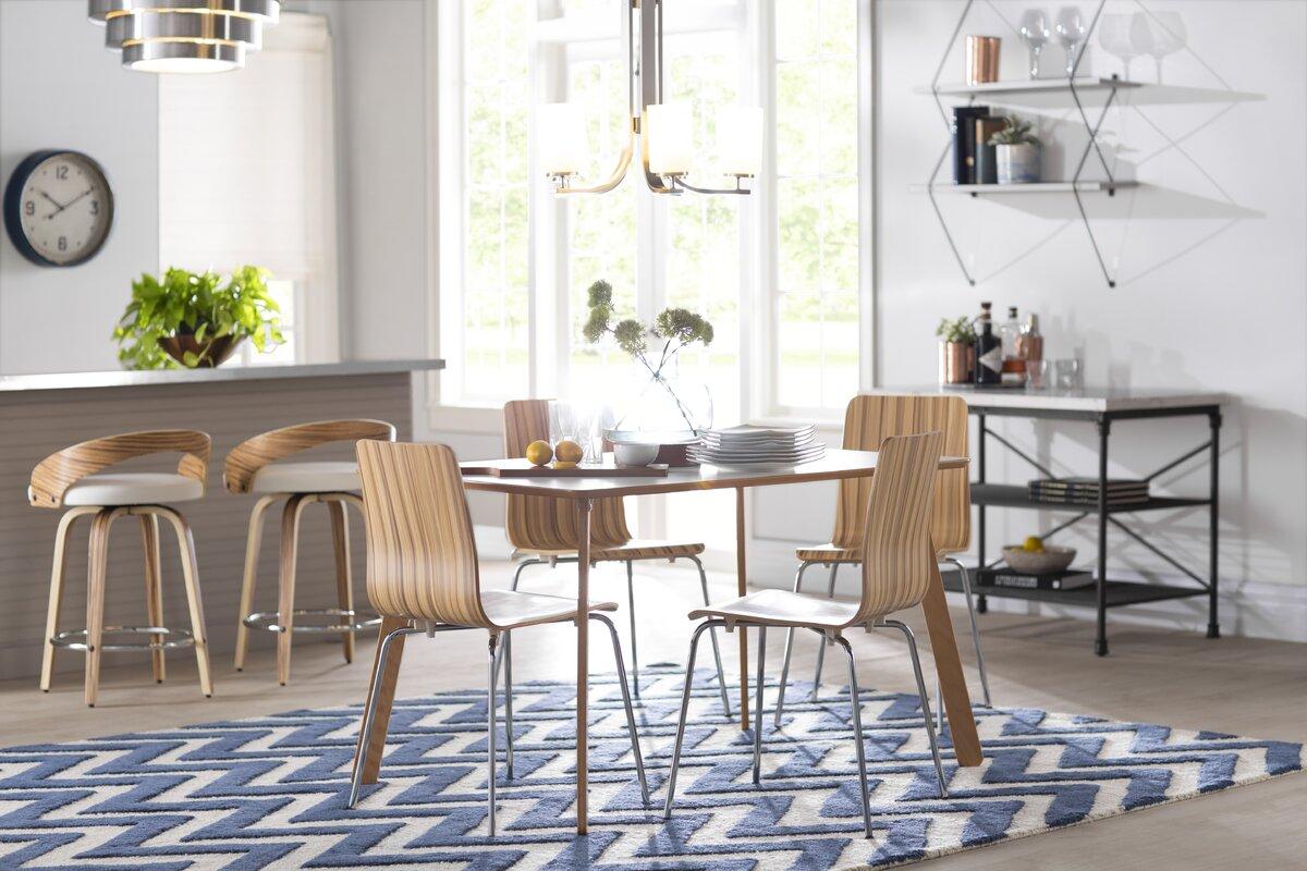 latitude run lucile 5 piece dining set u0026 reviews wayfair