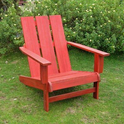 Duckett Solid Wood Adirondack Chair
