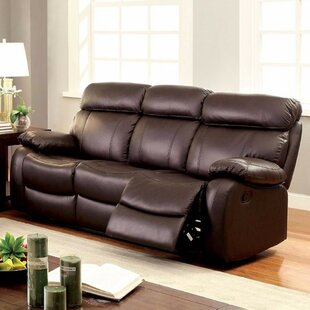 Garbutt Top Grain Recliner Sofa
