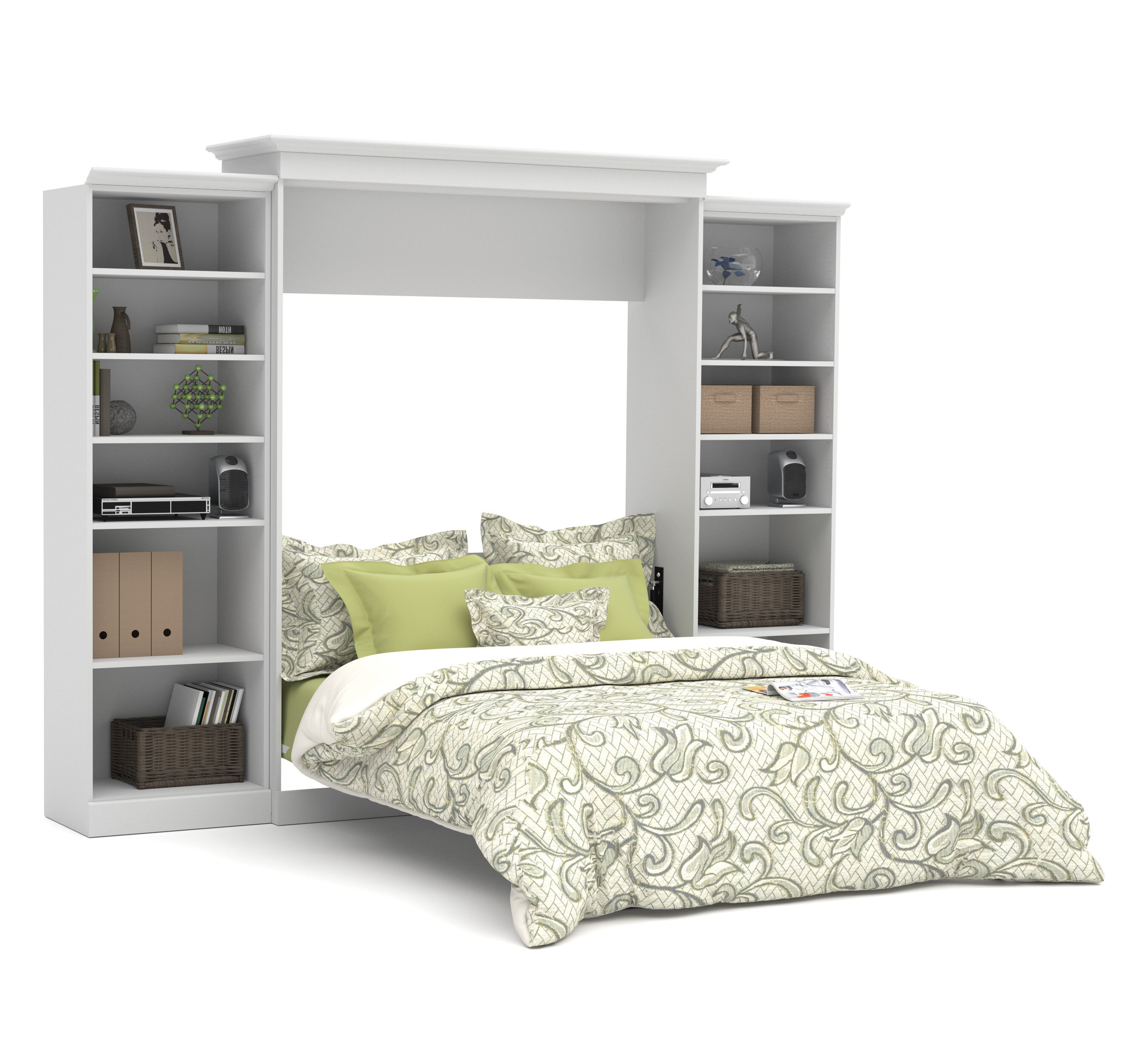 queen diy projects murphy ana bed white furniture