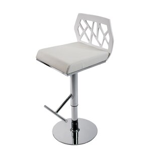 Malvern Adjustable Height Swivel Bar Stool