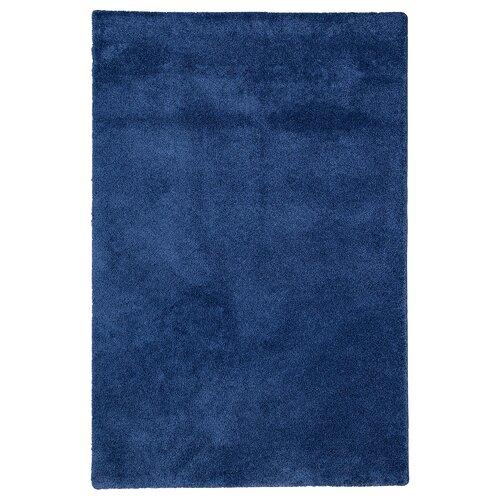 Johnie Dark Blue Rug Ebern Designs Rug size: Runner 80 x 400