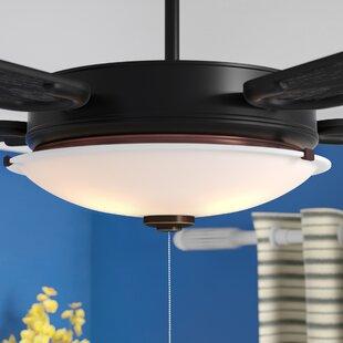 3-Light LED Bowl Ceiling Fan Light Kit