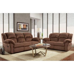 Compare Napoleon Reclining 2 Piece Living Room Set by Red Barrel Studio Reviews (2019) & Buyer's Guide