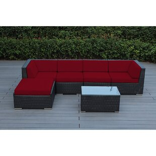 Baril 6 Piece Sectional Set with Cushions by Wade Logan