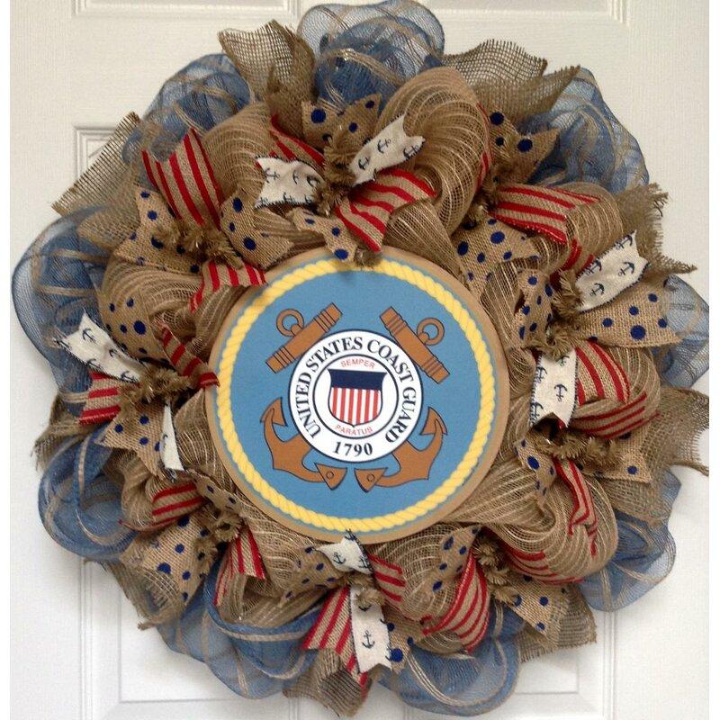 fall wreath round wreath, Scarecrow wreath yellow and blue wreath burlap wreath