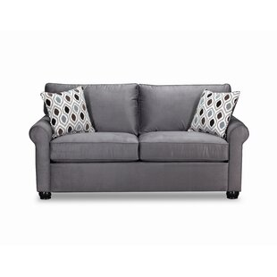 Simmons Upholstery Chess Loveseat by Winston Porter