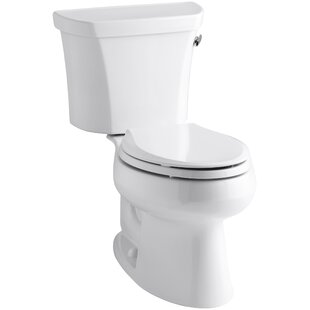 Kohler Wellworth Two-Piece Elongated 1.6 GPF Toilet with Class Five Flush ..